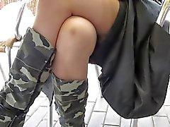 nudez em público upskirts voyeur