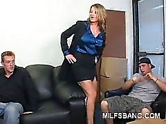 blonde group sex upskirt