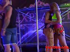 blondes brunettes group sex spanish orgy