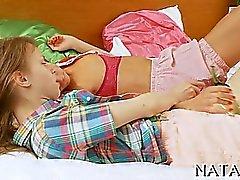 blonde lesbian redhead russian
