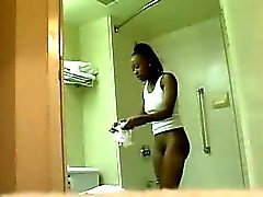 amateur black and ebony hidden cams shower softcore