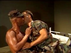 gay gay porn interracial military muscle
