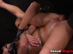 bdsm blowjob brunette fetish hardcore