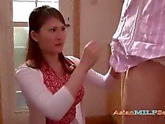 asiático milf velho senhora maduro