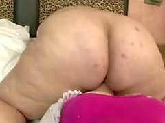 BBW Big Butt Mature with her Sextoy Girl