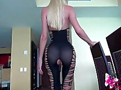 anal masturbation big tits blonde high heels latin