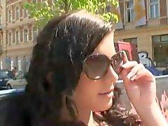 amateur tchèque clignotant handjobs de plein air