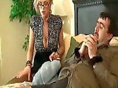 big boobs cuckold femdom