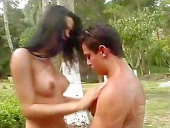 transsexual latina brunette