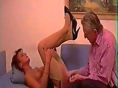 couple mature stockings pantyhose german