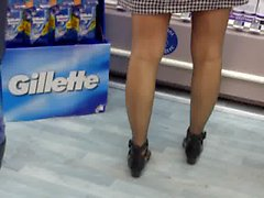 matures upskirts nylon