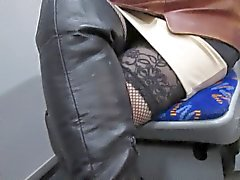 voyeur amateur upskirts stockings