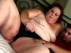 bbw blowjob fat handjob