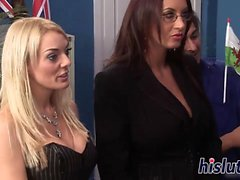 big boobs blonde brunette group sex hardcore