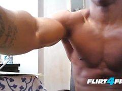 flirt4freeguys stor cock latin anal solo ass sprida muskulös atletisk amatör sexy hunk cumshot stora