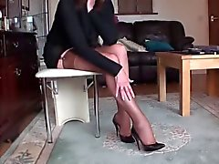 amateur foot fetish stockings