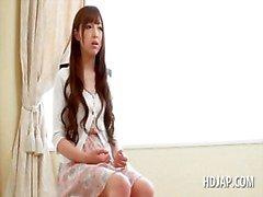 tyttö ruskeaverikkö japanilainen teini-ikäinen aasialainen