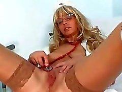 big tits hospital nurses speculum stockings