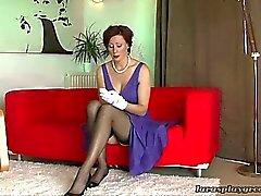 dilettante lesbica calze