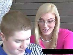 blondin avsugning cumshot