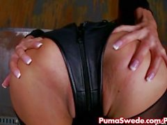 Puma Swede Gets Dirty in Warehouse!