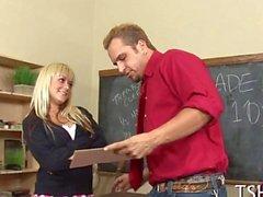 hardcore scolara insegnante