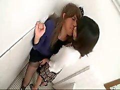 bisexuella japansk voyeur