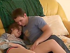 blowjob brunette russian small tits