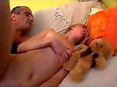 blonde-hairy-pussy old-man blonde old young