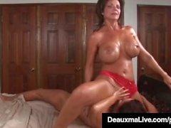 deauxma magdalene st michaels british deauxma mom masturbate mature mother big boobs fake tits huge