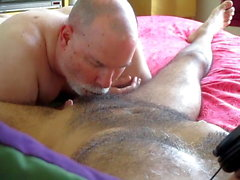 gay blowjob cum tribute hunk