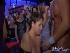 amateur brunette party orgy