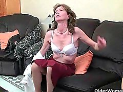 solo girl masturbation mature granny