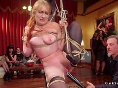 bdsm blondine fetisch gruppen-sex hardcore