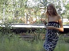 flashing teens public nudity russian