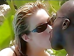 zwart op wit grote zwarte pik interraciale