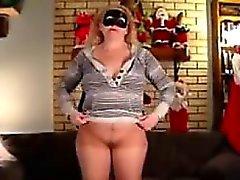 blonde masturbation mature solo webcam