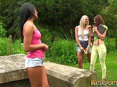 blonde brunette hd lesbian