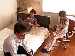 aziatisch behaard japanse kut tiener