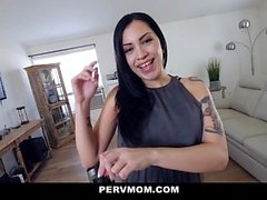 PervMom - Hot Latina Stepmom Fucks Stepson