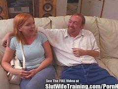 candi äpple slutwifetraining big- tuttar redhead 3some