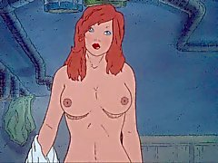 brunettes cartoons tits