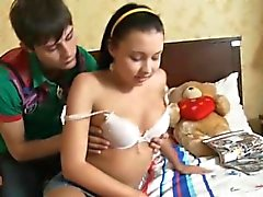 blowjob brunette russian teen