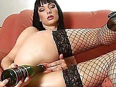 fles clitoris masturberen masturbatie orgasme