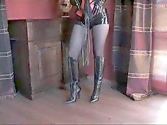 bdsm femdom foot fetish latex