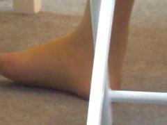 kink public outside pantyhose-feet