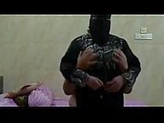 hijab sex with his sexy wife