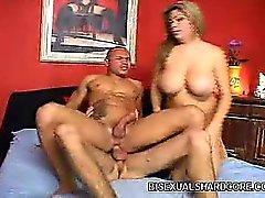 bisexual hardcore threesome