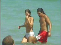 amateur plage cames cachées de plein air