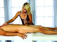 babe blonde blowjob handjob hd